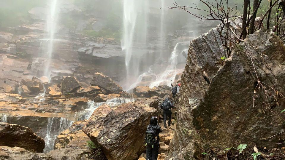 Leura to Wentworth Falls 21km – Rain