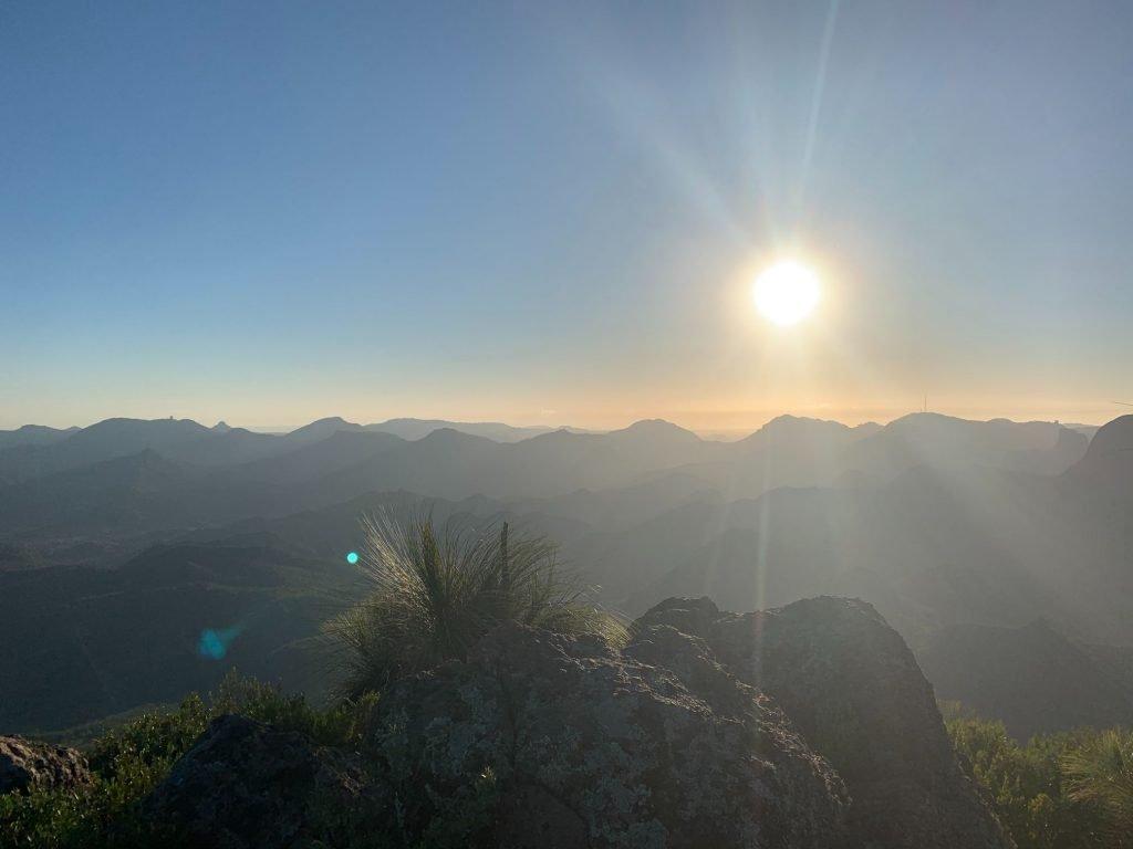 Mt Exmouth over sunrise