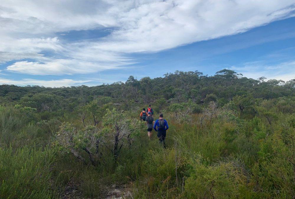 Woy Woy to Point Clare via Brisbane Waters NP (50km)